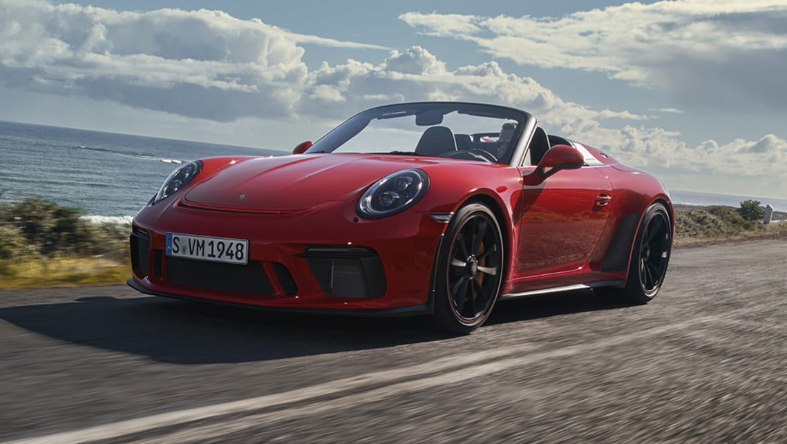The 911 Speedster is developed by the Porsche Motorsport department on a chassis derived from the 911 GT3.