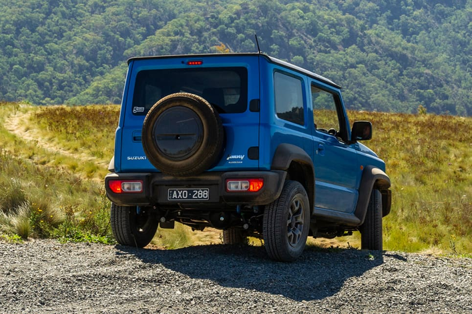 The Jimny has a classic retro-cool look about it.