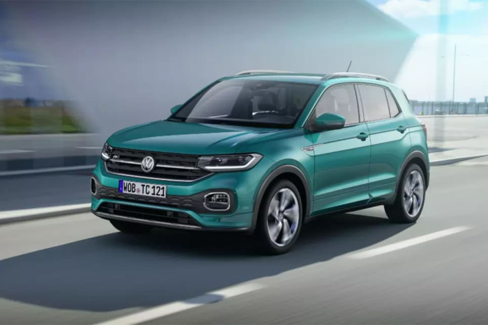 The T-Cross will ride on the same platform as the Polo.