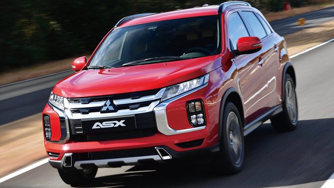 The ASX's drivetrain remains the same, with a 2.0-litre four-cylinder petrol engine.