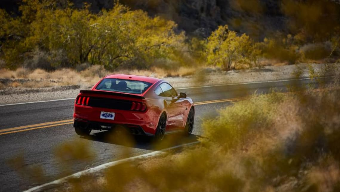 The RTR makes use of new Ford Performance suspension, with new adjustable sway bars designed to give more control of the chassis set-up.