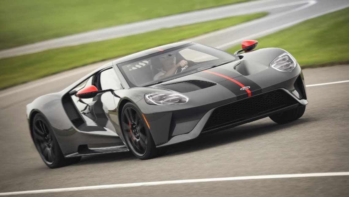 Ford Gt Carbon Series  Lighter Faster Version American Supercar