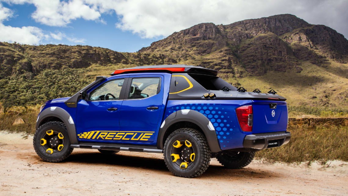 The Sentinel is fitetd with a snorkel and 16-inch alloys wrapped in heavy duty adventure tyres.