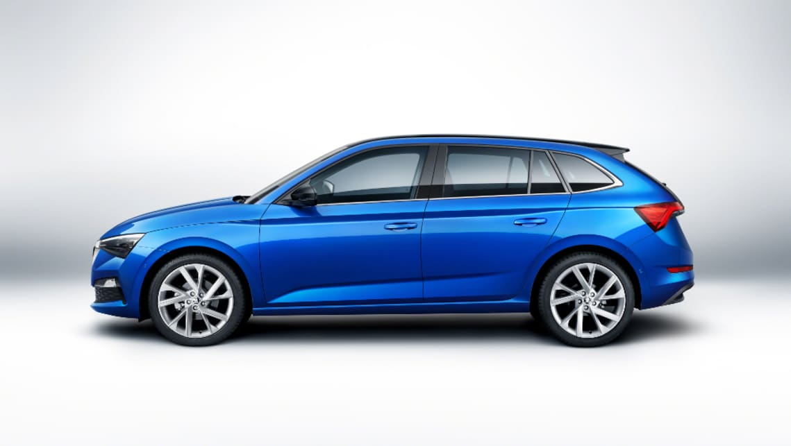 Skoda Scala 2019 Revealed Mazda 3 Fighting Hatch Breaks Cover At
