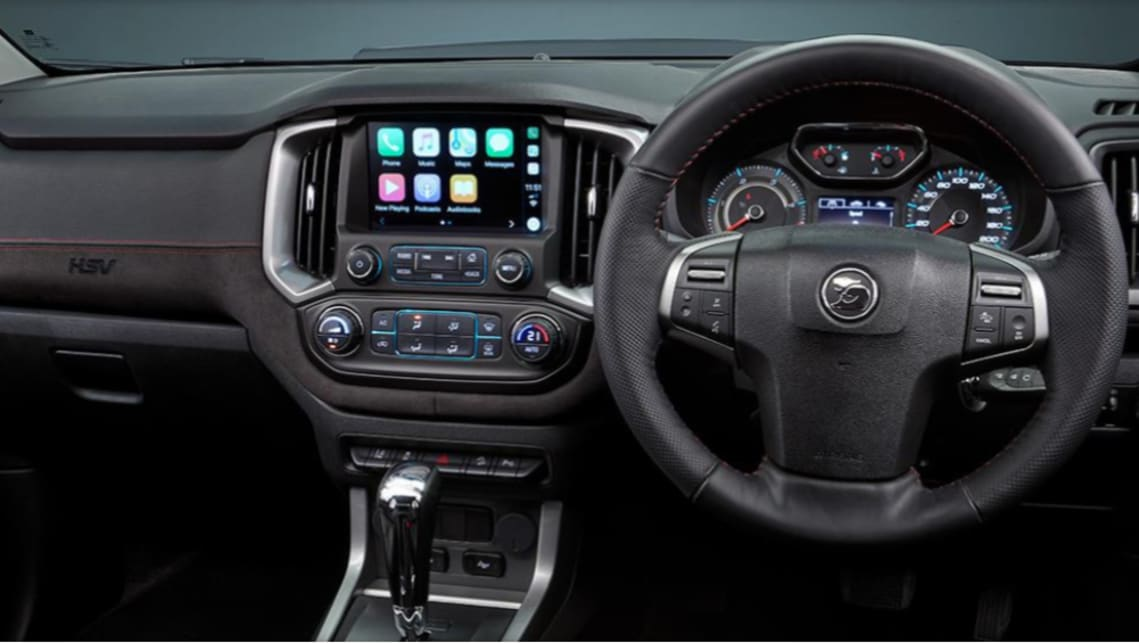 At the centre of the cabin is a 8.0-inch touchscreen with Apple CarPlay and Android Auto.