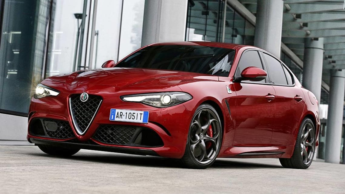 Alfa Romeo. 2017 Alfa Romeo Giulia. New Giulia Sedan