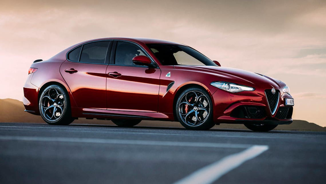 alfa romeo giulia quadrifoglio 2017 review carsguide. Black Bedroom Furniture Sets. Home Design Ideas
