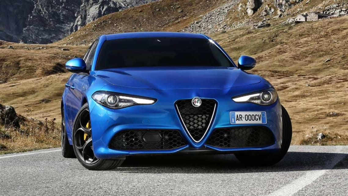 alfa romeo giulia 2017 new car sales price car news carsguide. Black Bedroom Furniture Sets. Home Design Ideas
