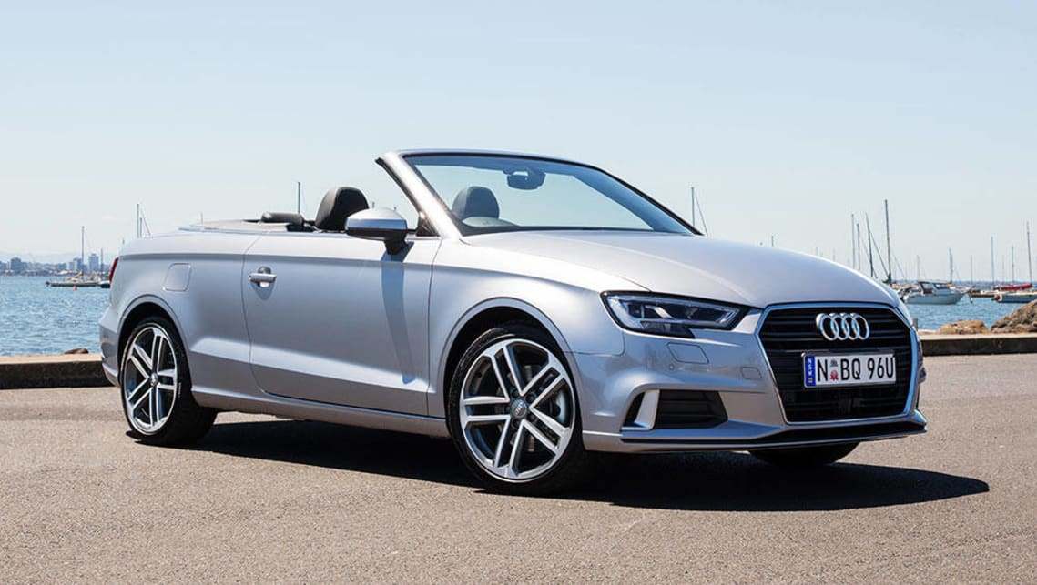 audi a3 cabriolet 2 0 tfsi 2017 review carsguide. Black Bedroom Furniture Sets. Home Design Ideas