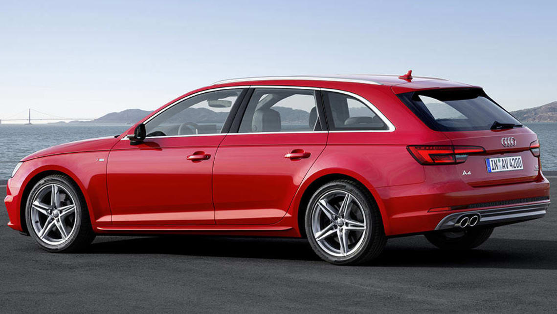 2016 audi a4 avant review first drive carsguide. Black Bedroom Furniture Sets. Home Design Ideas