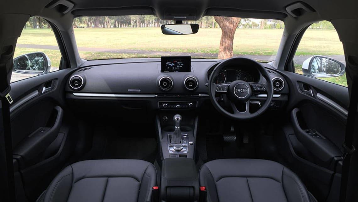audi a3 sportback 1 0 tfsi 2017 review road test carsguide. Black Bedroom Furniture Sets. Home Design Ideas