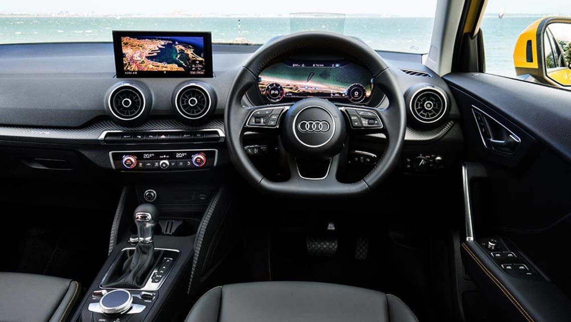 audi q2 2017 review first australian drive video carsguide. Black Bedroom Furniture Sets. Home Design Ideas