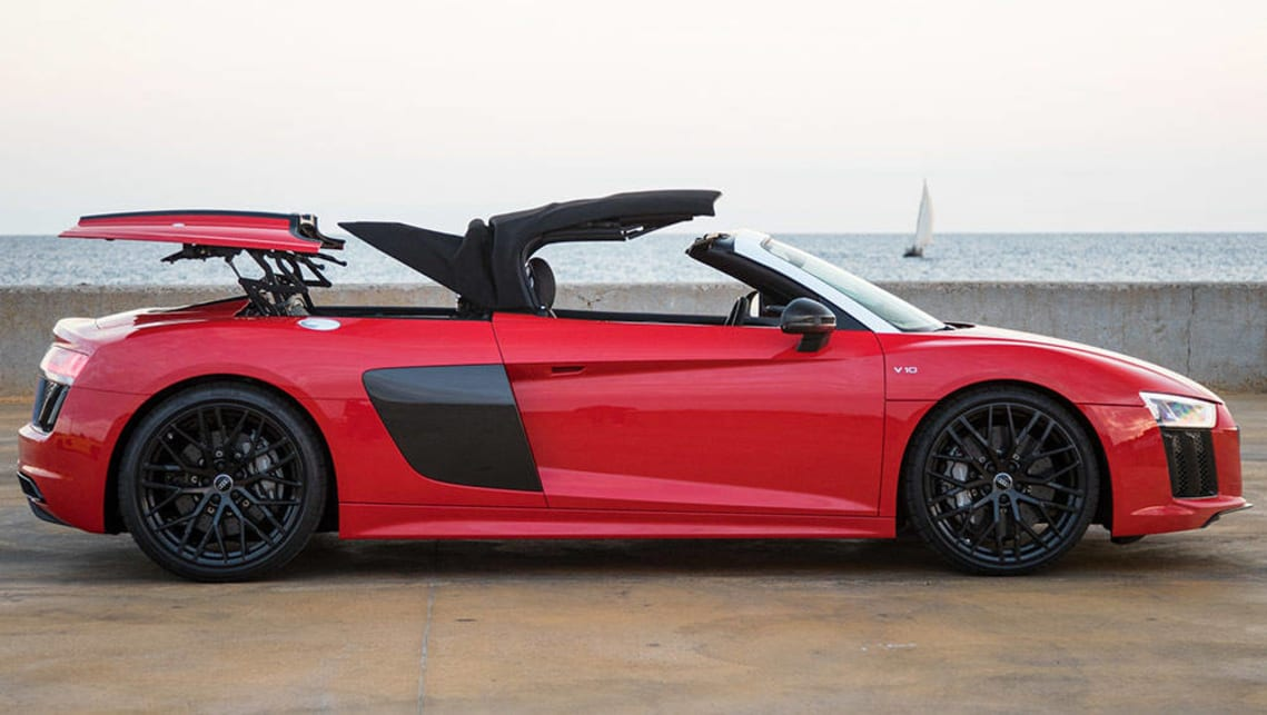 The 2017 Audi R8 Spyder starts at $176,350 - Autoblog