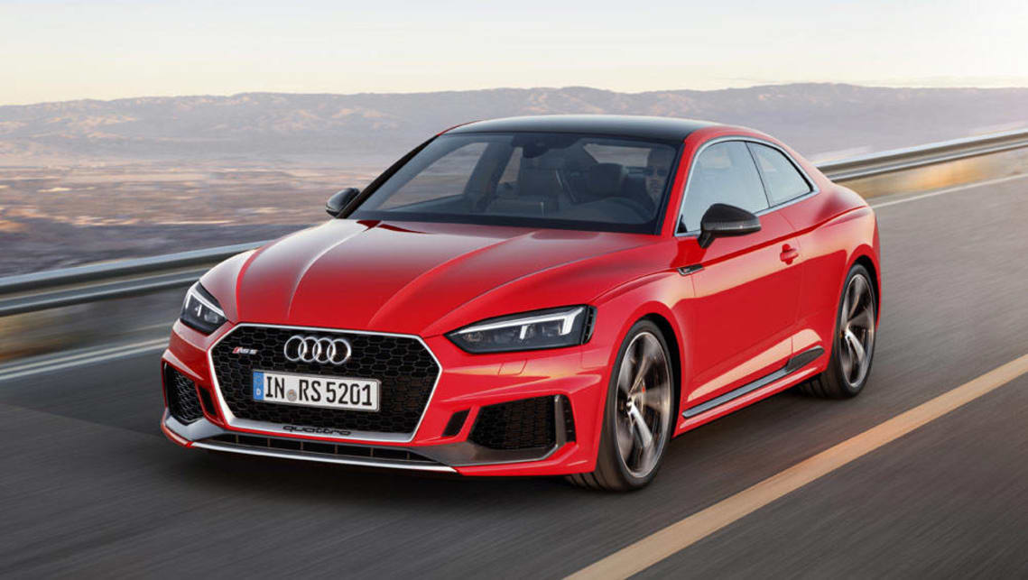 מתוחכם 2017 Audi RS5 revealed with torquey twin-turbo V6 - Car News TM-41