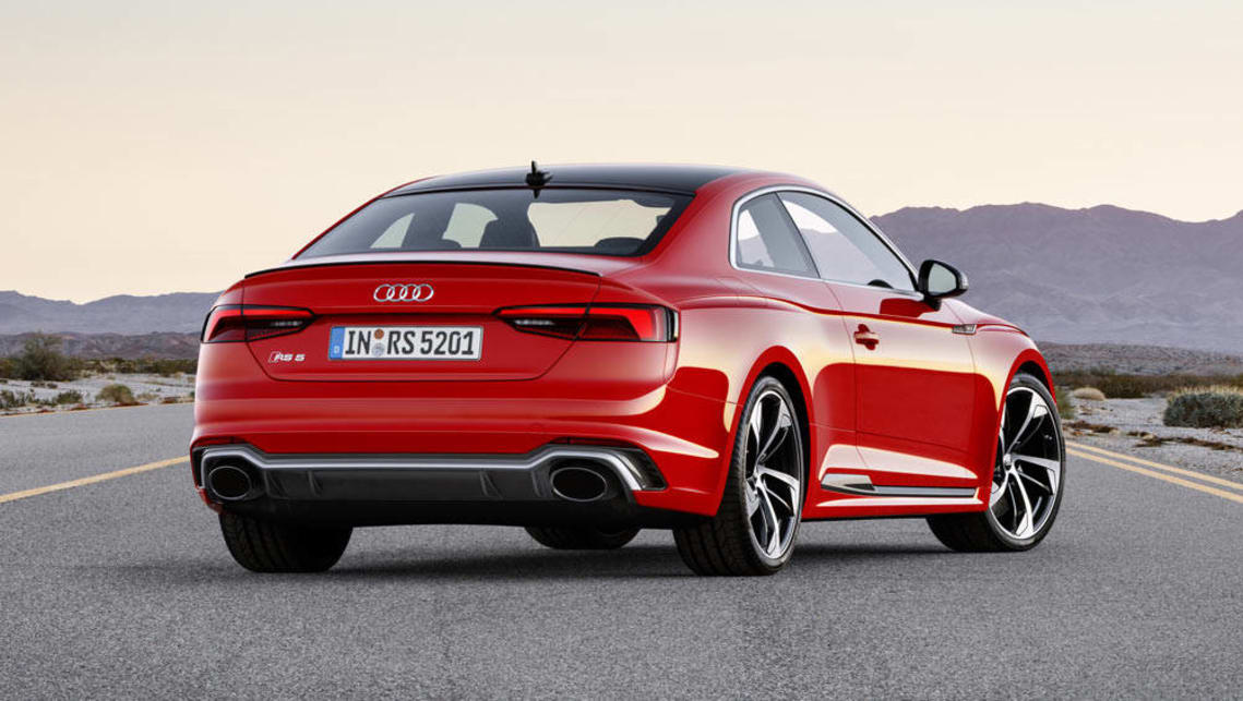 2017 Audi Rs5 Revealed With Torquey Twin Turbo V6 Car