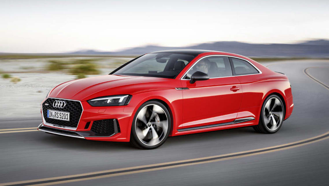 2017 Audi Rs5 Revealed With Torquey Twin Turbo V6 Car News Carsguide