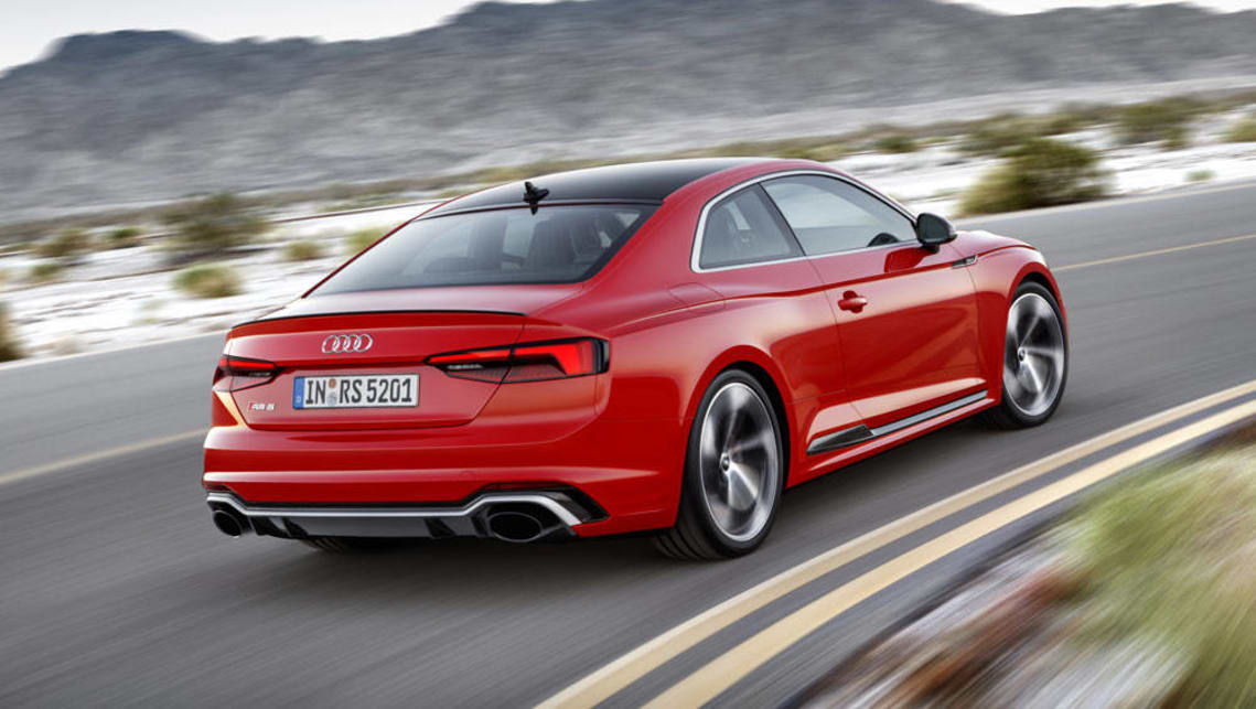 2017 audi rs5 revealed with torquey twin turbo v6 car news carsguide. Black Bedroom Furniture Sets. Home Design Ideas