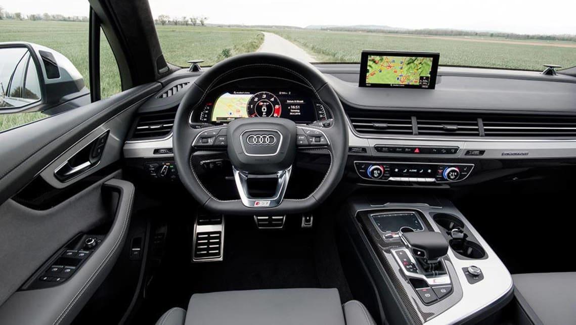 Audi SQ Review CarsGuide - Audi sq7