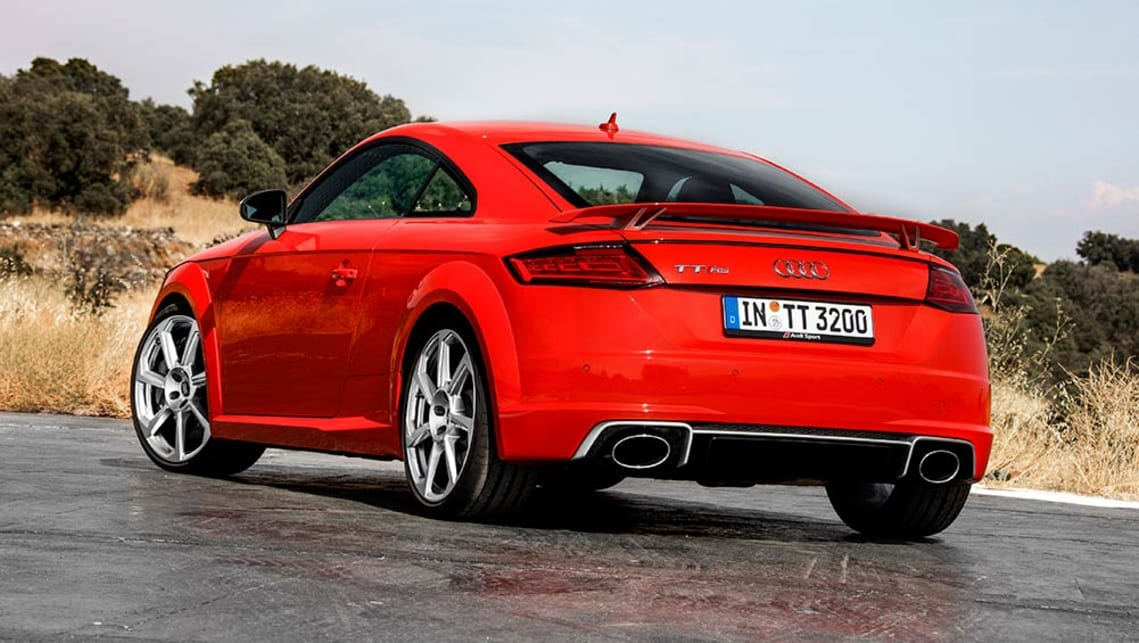 Audi TT RS Review CarsGuide - 2018 audi tt
