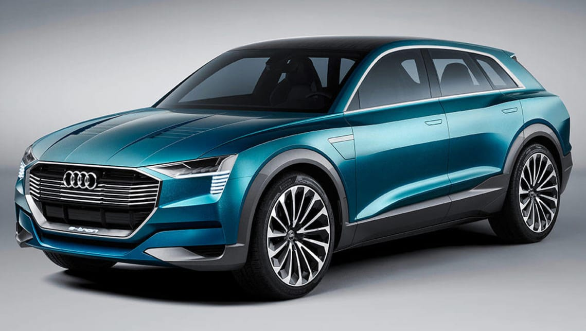 MercedesBenz Audi BMW And Porsche Developing Allelectric Tesla - Audi bmw benz