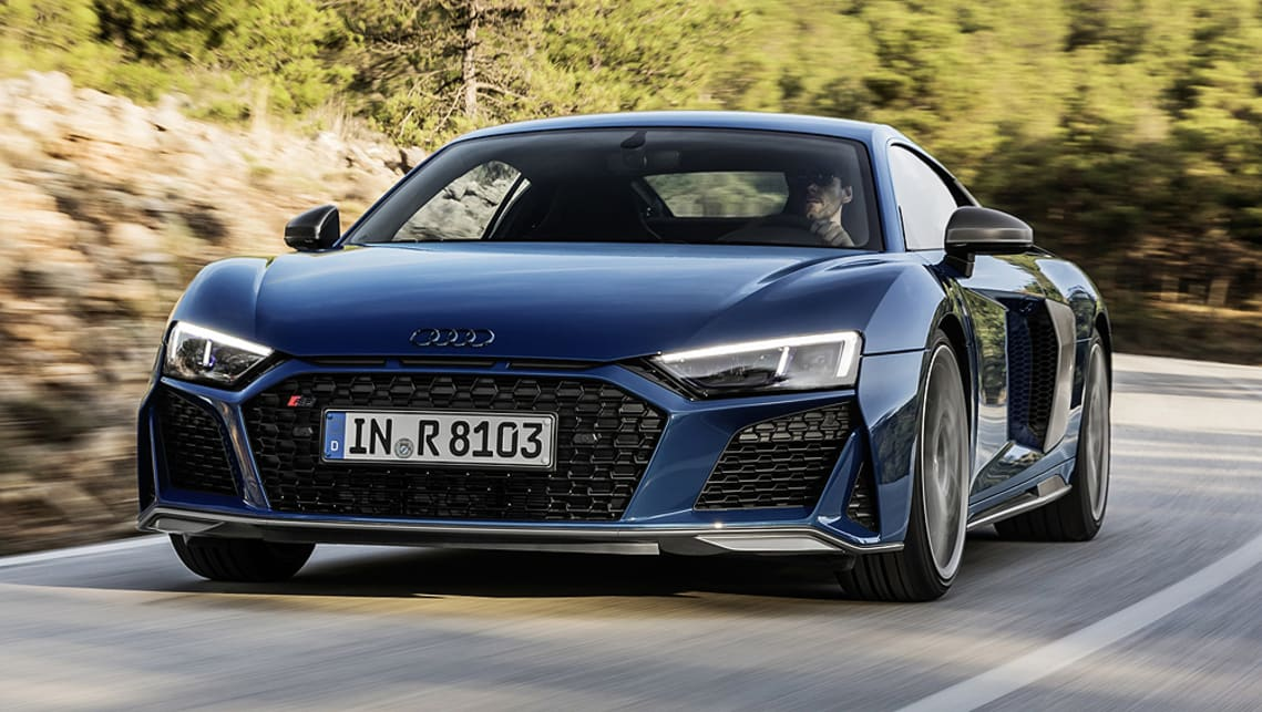 Tesla Update >> Audi R8 2019 facelift revealed - Car News | CarsGuide
