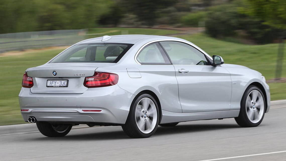 BMW Series I Coupe Review Snapshot CarsGuide - 220i bmw