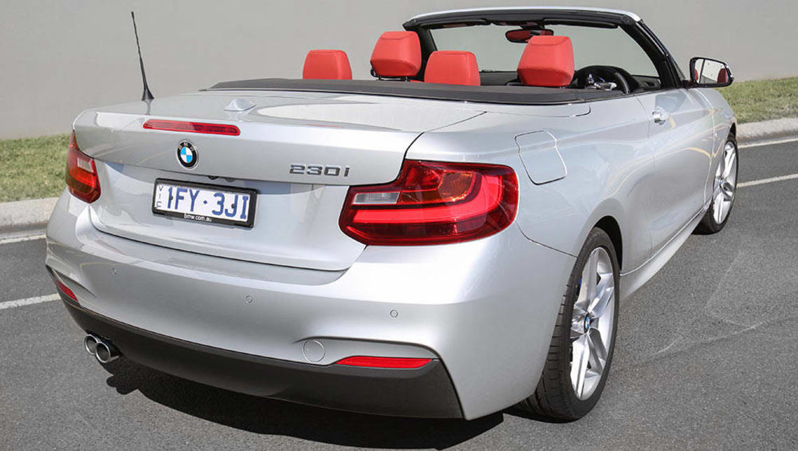 BMW I Convertible Review Snapshot CarsGuide - Bmw 220i