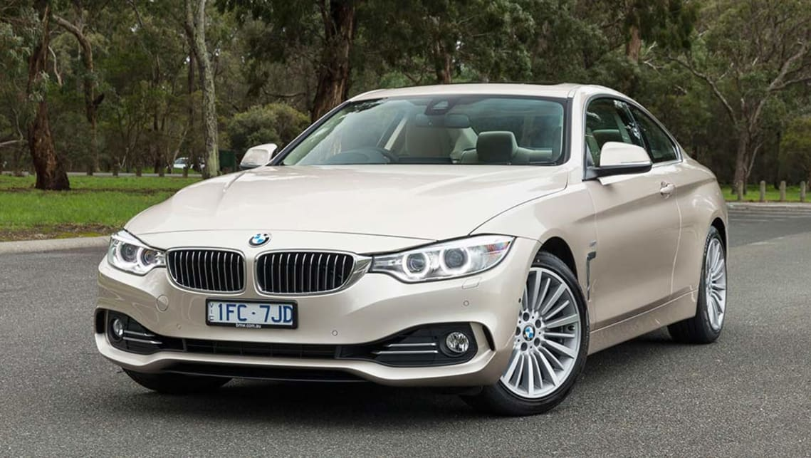 2016 BMW 4 Series Coupe (420i shown).