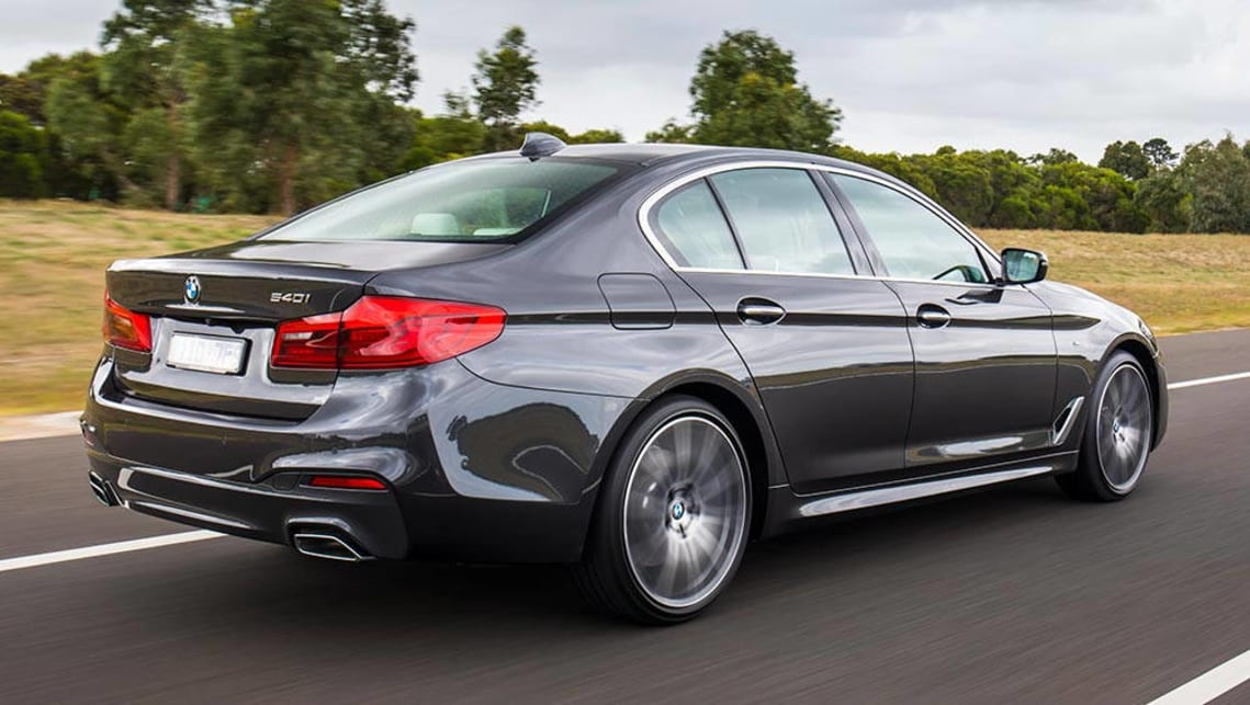Bmw 540i 2017 Review Snapshot Carsguide