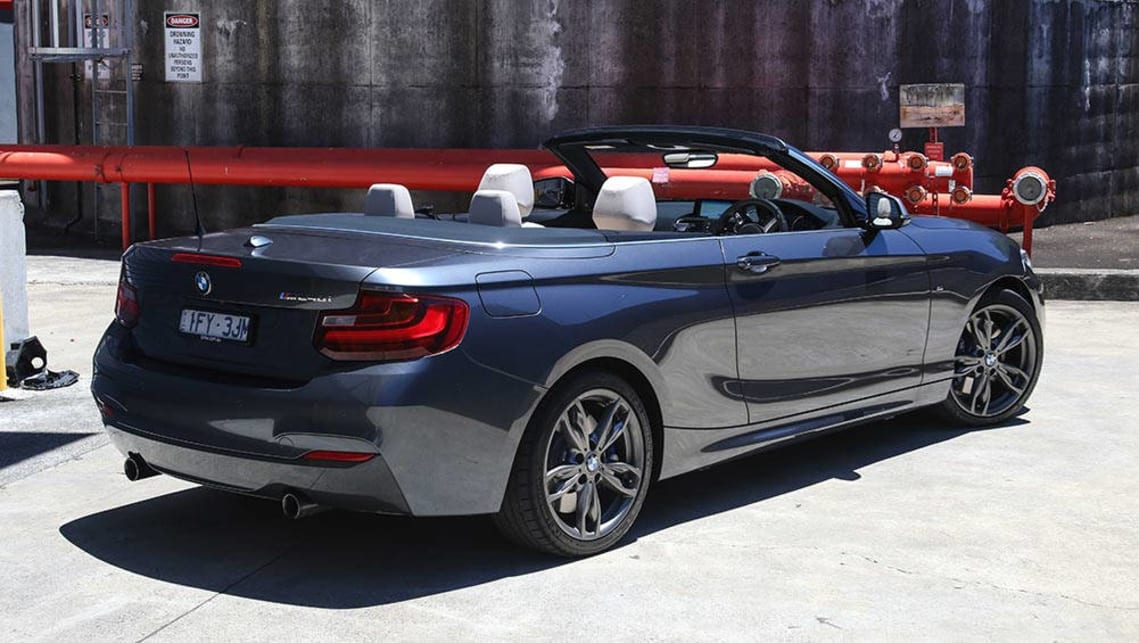 Bmw M240i Convertible 2016 Review Carsguide