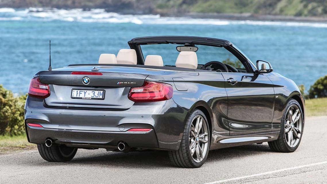 bmw m240i convertible 2016 review snapshot carsguide. Black Bedroom Furniture Sets. Home Design Ideas