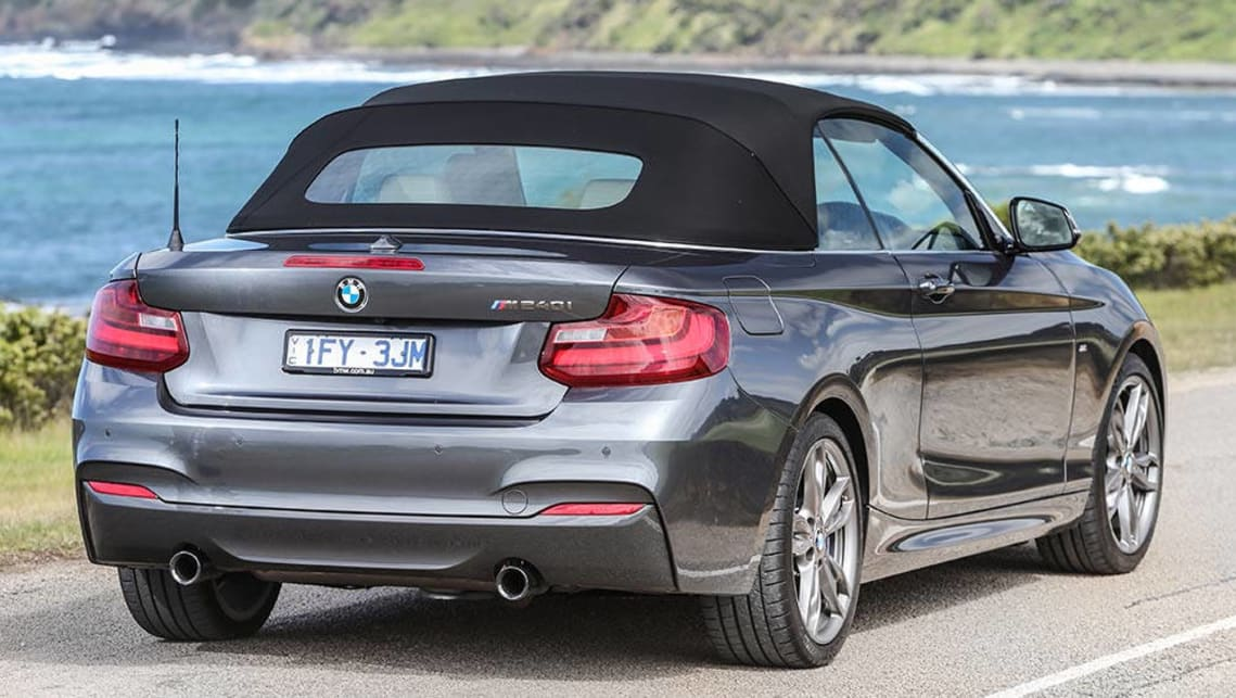 Bmw M240i Test >> BMW M240i Convertible 2016 review | snapshot | CarsGuide