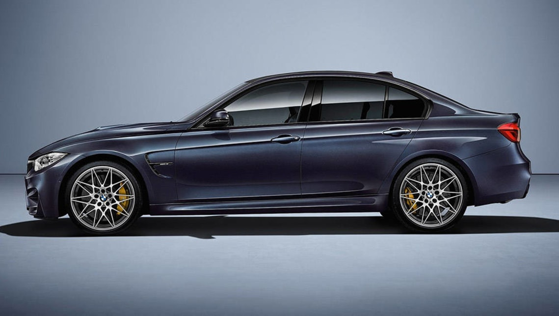 2016 BMW M3 30 Year limited edition marks 30th anniversary ...