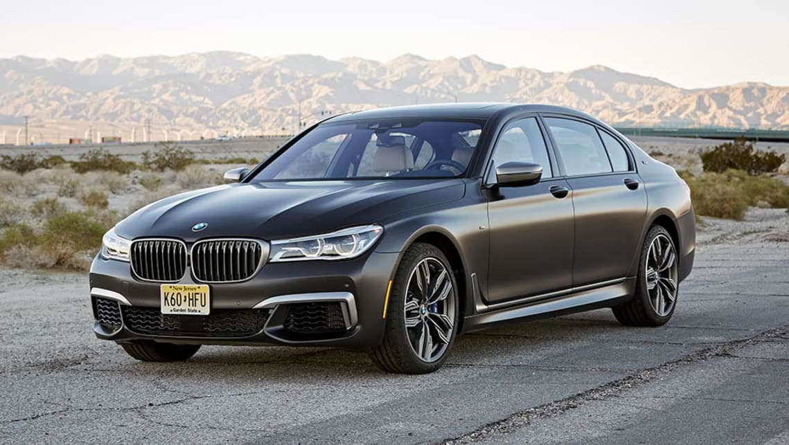 BMW M760Li xDrive (2017) - pictures, information &amp- specs