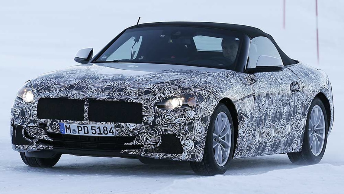 2018 Bmw Z5 Convertible Spy Pics Car News Carsguide