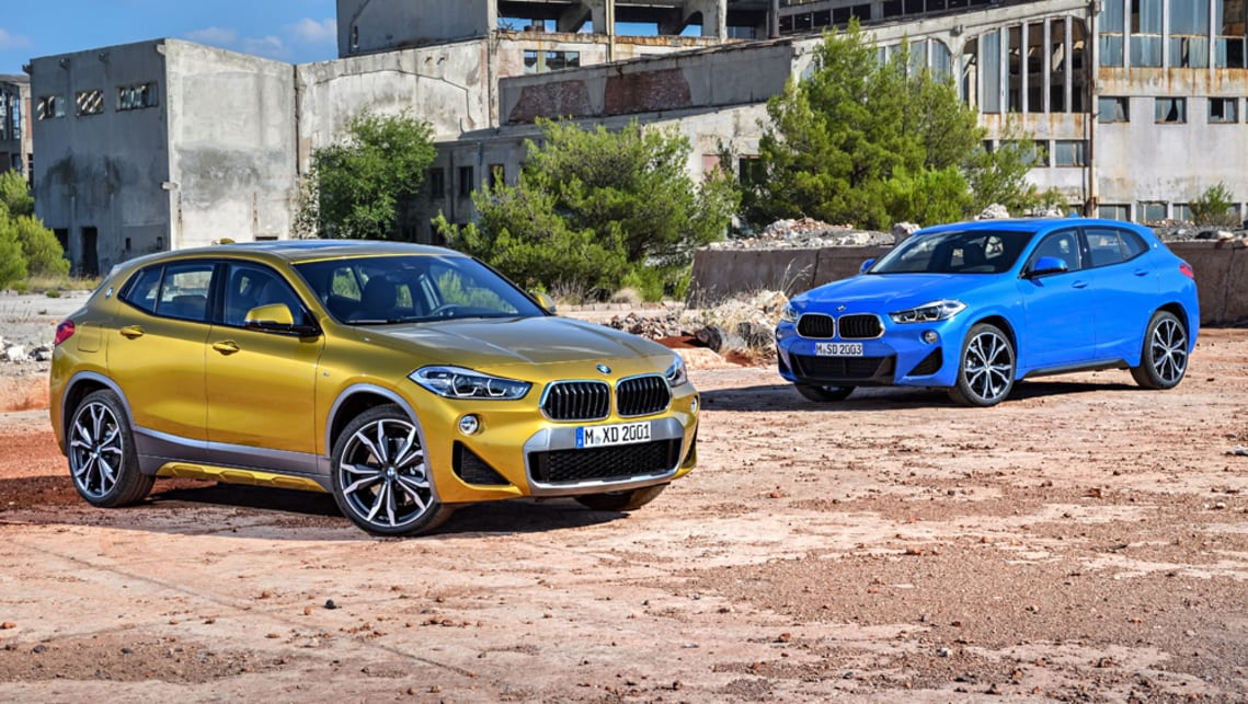 bmw x2 sdrive20i 2018 pricing and specs confirmed car news carsguide. Black Bedroom Furniture Sets. Home Design Ideas