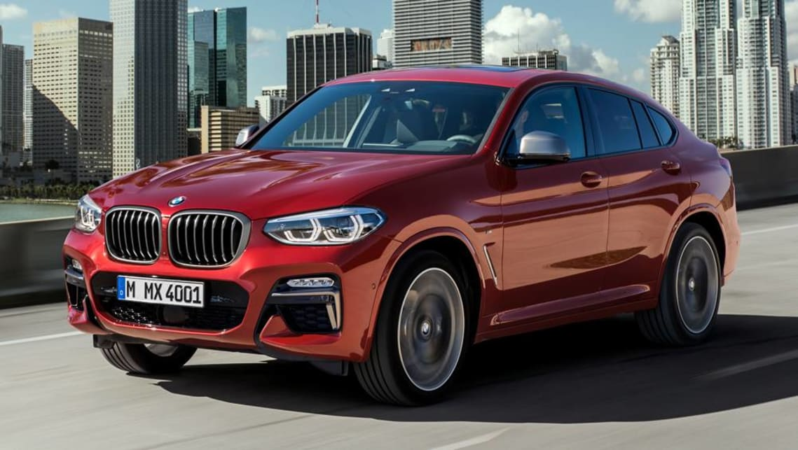 X appeal? New BMW X4 SUV unveiled