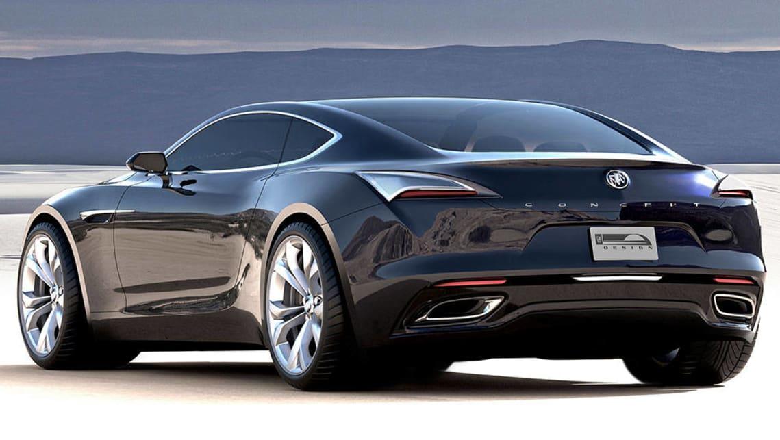Buick Avista concept could be the next Holden Monaro - Car ...