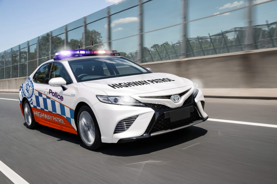 Camry V6 In The Running For Police Duties Car News Carsguide