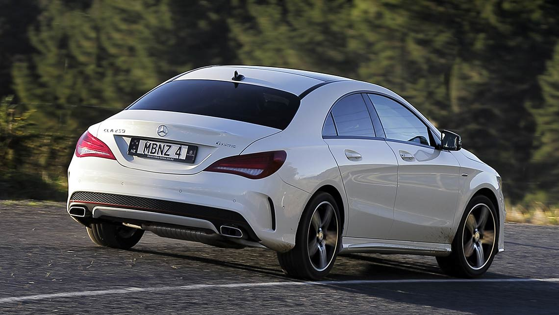 Mercedes benz cla 250 sport 4matic 2014 review carsguide for 2014 mercedes benz cla class review