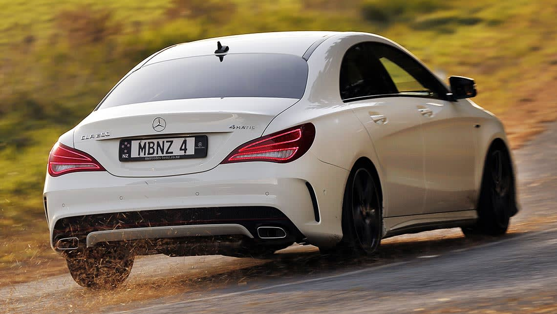 Mercedes benz cla 250 2014 review carsguide for Mercedes benz cls 250 price