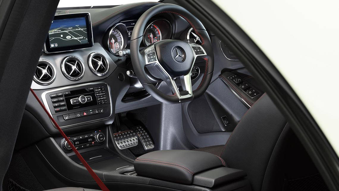 Mercedes benz cla 250 2014 review carsguide for 2014 mercedes benz cla 250 review
