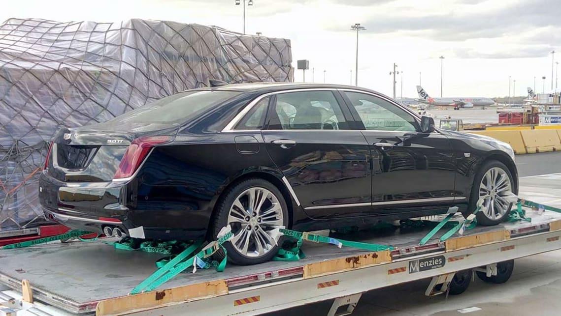 Melbourne Cadillac CT6 sighting hints at Australian future ...