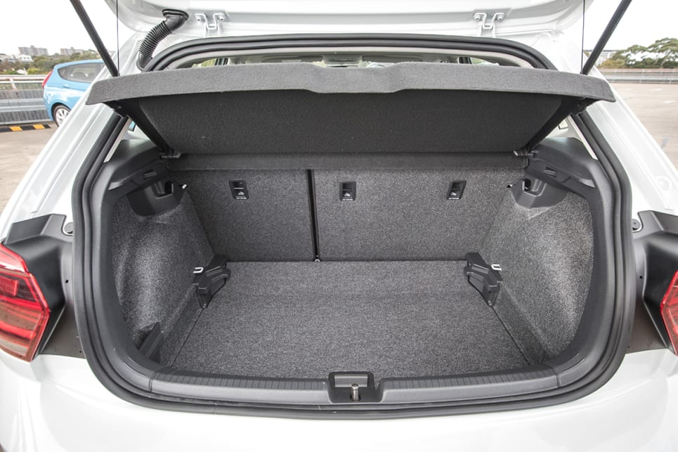 The Polo has a removable dual-level liner sections to increase space.