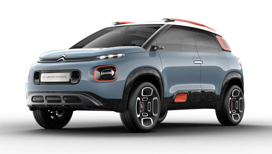 citroen c aircross concept to hit geneva car news. Black Bedroom Furniture Sets. Home Design Ideas