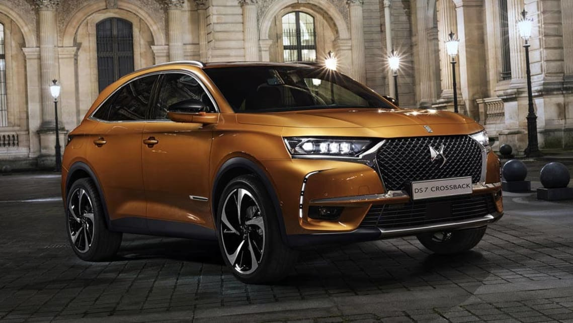 2018 DS DS7 Crossback revealed - Car News | CarsGuide