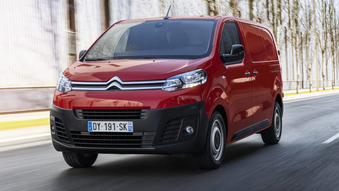 8592de8e42 Citroen will re-enter the van market with the mid-size Dispatch