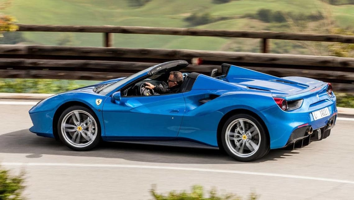 ferrari 488 spider 2016 review carsguide. Black Bedroom Furniture Sets. Home Design Ideas