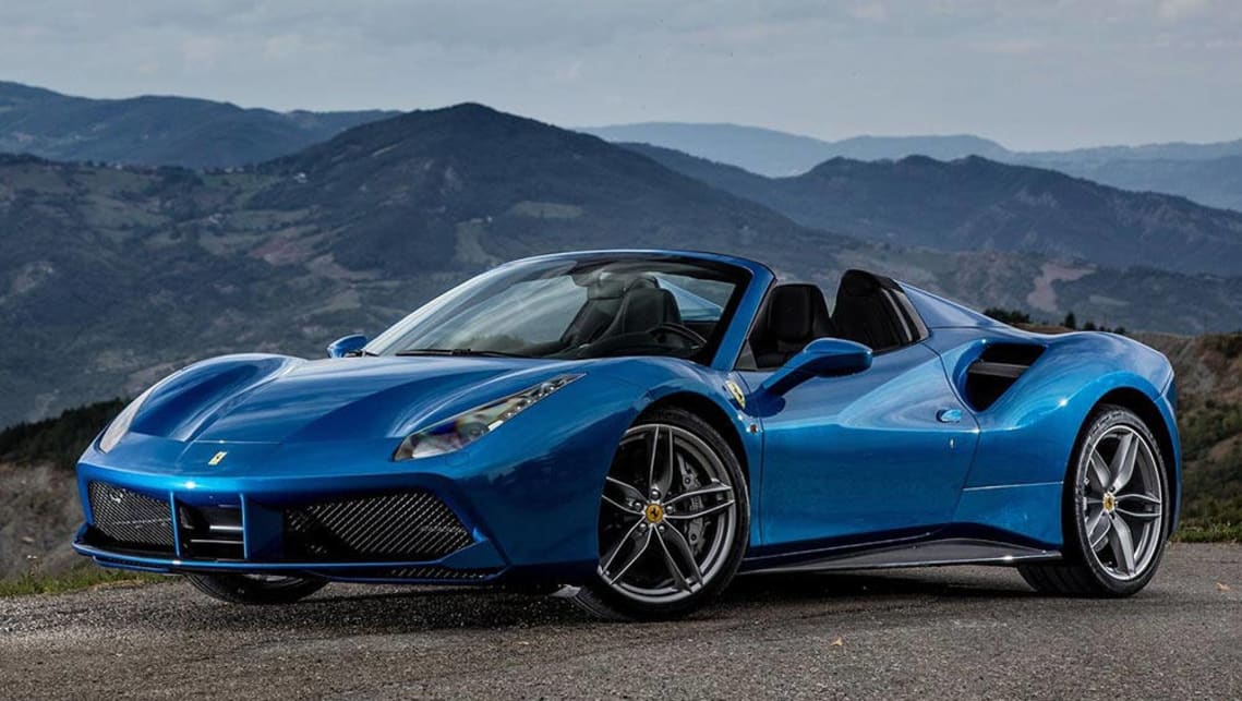 ferrari 488 spider 2016 review | carsguide