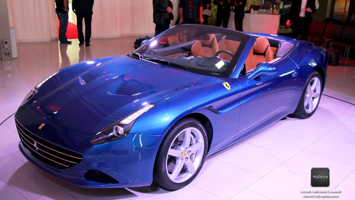 2015 Ferrari California T Hits Australia Video Car News Carsguide